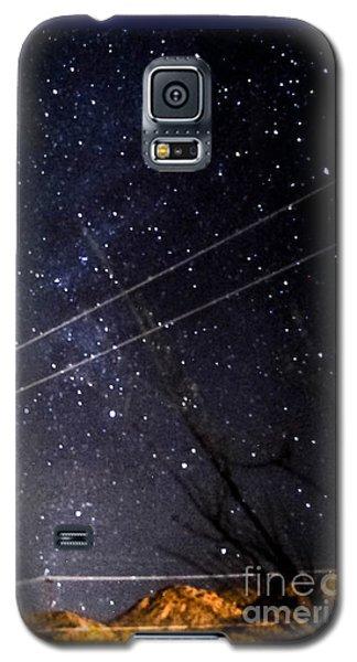Stars Drunk On Lightpaint Galaxy S5 Case by Angela J Wright