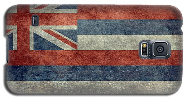 State Flag Of Hawaii Vintage Version Galaxy S5 Case by Bruce Stanfield