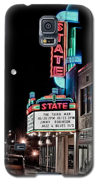 Galaxy S5 Case featuring the photograph State Theater by Jim Thompson