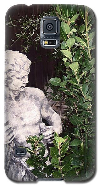 Galaxy S5 Case featuring the photograph Statue 1 by Pamela Cooper
