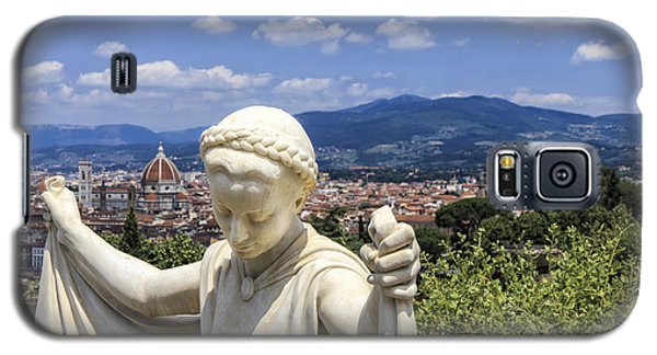 Statue At San Miniato Al Monte Galaxy S5 Case