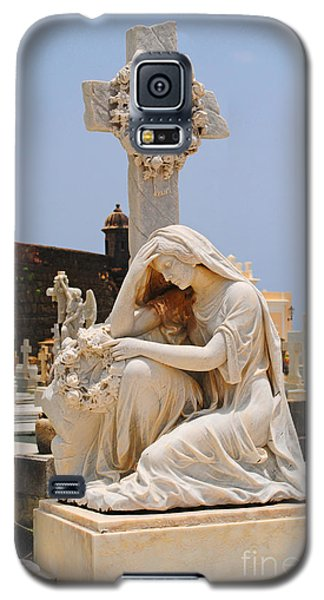 Statue Mourning Woman Galaxy S5 Case