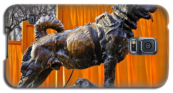 Statue Of Balto In Nyc Central Park Galaxy S5 Case