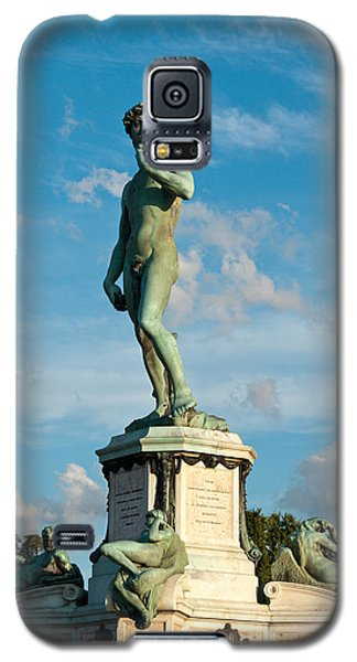 Statue Of David Galaxy S5 Case by Gurgen Bakhshetsyan