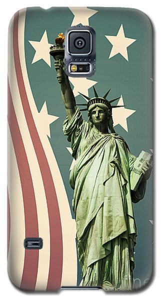 Statue Of Liberty Galaxy S5 Case by Juli Scalzi