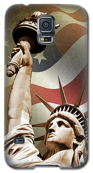 Statue Of Liberty Galaxy S5 Case by Mark Rogan