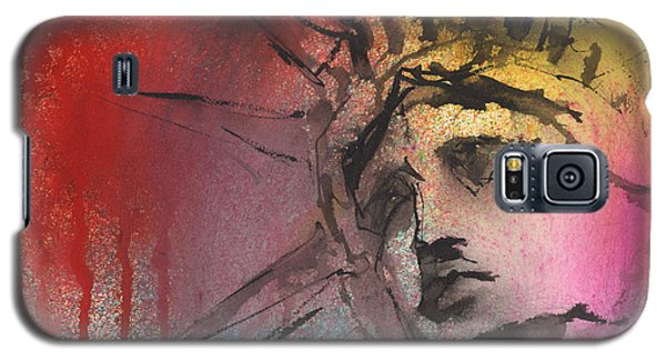 Statue Of Liberty New York Painting Galaxy S5 Case by Svetlana Novikova