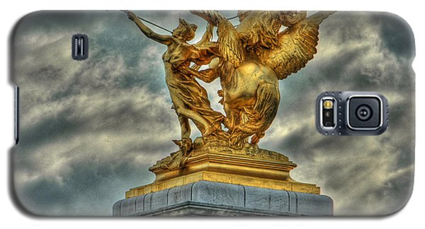Statue On Pont Alexandre IIi Galaxy S5 Case