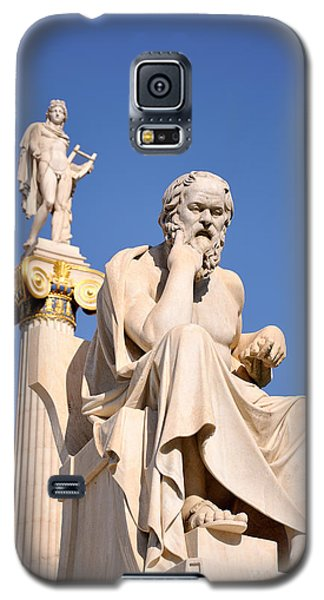 Statues Of Socrates And Apollo Galaxy S5 Case
