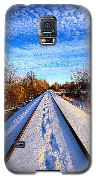 Staying Within The Lines Galaxy S5 Case by Phil Koch