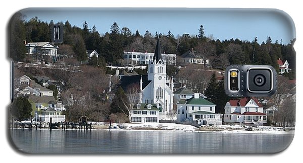 Ste. Anne's Catholic Church On Mackinac Island Galaxy S5 Case