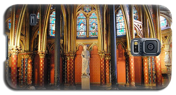 Ste.-chapelle Lower Chapel Galaxy S5 Case by Jacqueline M Lewis