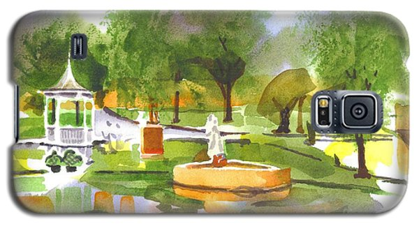 Ste Marie Du Lac In Watercolor II Galaxy S5 Case