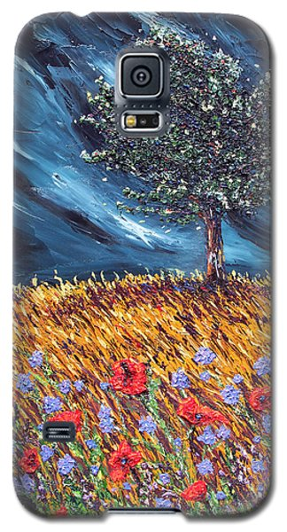Galaxy S5 Case featuring the painting Steadfast Love by Meaghan Troup
