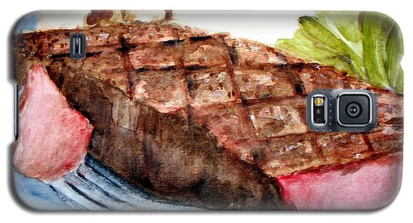Steak Anyone Galaxy S5 Case by Carol Grimes
