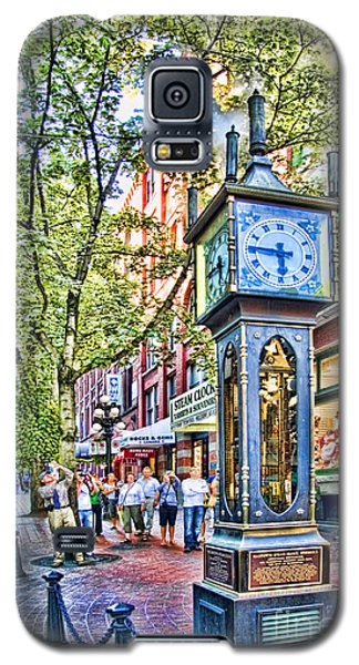 Steam Clock In Vancouver Gastown Galaxy S5 Case