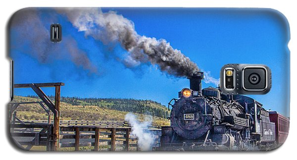 Steam Engine Relic Galaxy S5 Case
