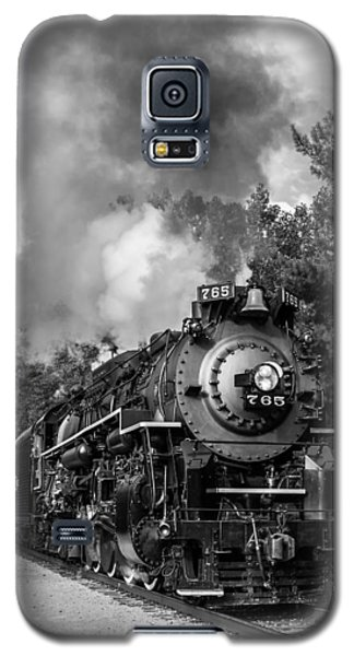 Steam On The Rails Galaxy S5 Case