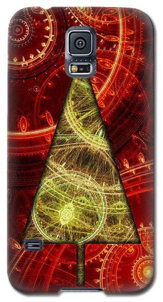 Steam Punk Christmas 1 Galaxy S5 Case