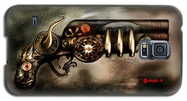 Steam Punk Pistol Mk II Galaxy S5 Case by Kim Gauge