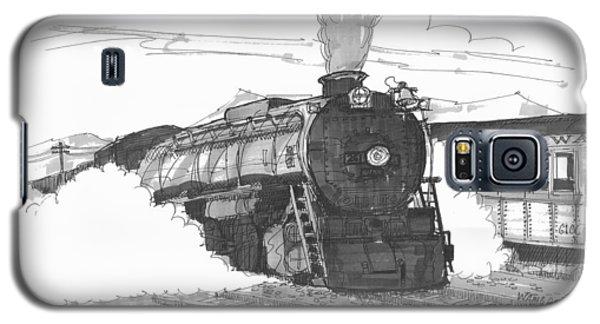 Steam Town Scranton Locomotive Galaxy S5 Case