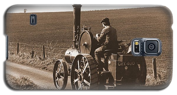 Steam Tractor Galaxy S5 Case