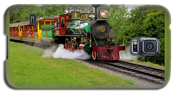 Galaxy S5 Case featuring the photograph Steam Train by Joy Hardee