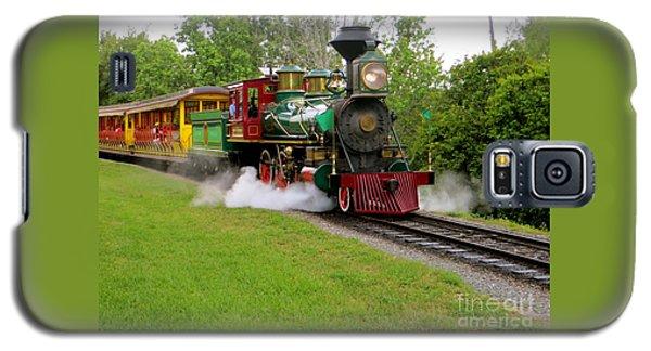 Steam Train Galaxy S5 Case by Joy Hardee
