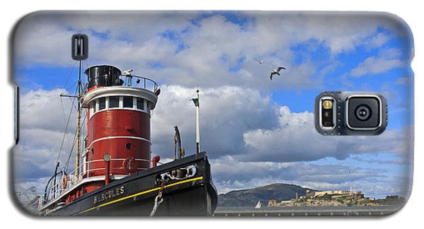 Galaxy S5 Case featuring the photograph Steam Tug Hercules by Kate Brown