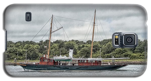 Steam Yacht Cangarda Galaxy S5 Case by Constantine Gregory