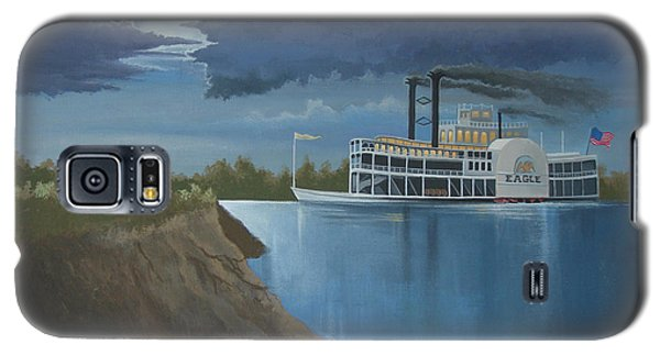 Steamboat On The Mississippi Galaxy S5 Case by Stuart Swartz