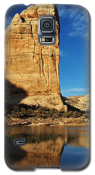 Steamboat Rock In Dinosaur National Monument Galaxy S5 Case