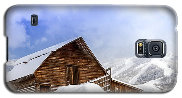 Steamboat Springs Barn And Ski Area Galaxy S5 Case
