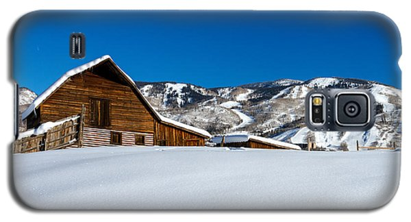 Steamboat Springs Barn Galaxy S5 Case