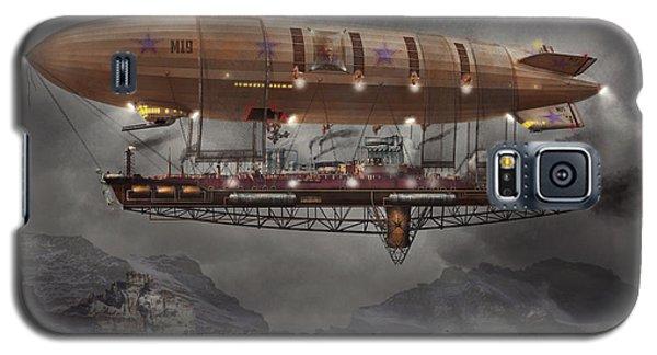 Steampunk - Blimp - Airship Maximus  Galaxy S5 Case