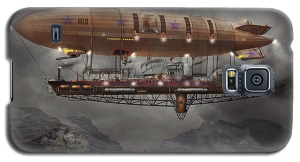 Steampunk - Blimp - Airship Maximus  Galaxy S5 Case