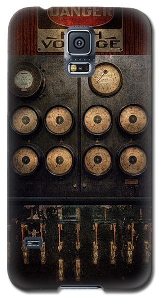 Steampunk - Electrical - Center Of Power Galaxy S5 Case