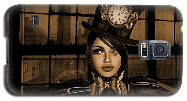 Steampunk Factory Captain I  Galaxy S5 Case