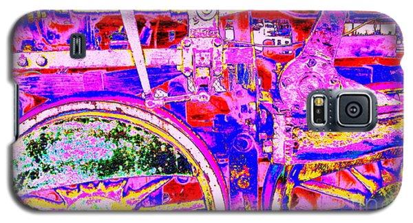 Steampunk Iron Horse #4 A Galaxy S5 Case by Peter Gumaer Ogden
