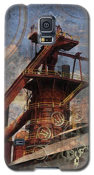 Steampunk Iron Mill Galaxy S5 Case