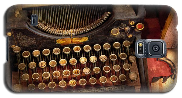 Steampunk - Just An Ordinary Typewriter  Galaxy S5 Case