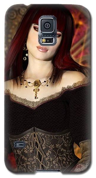 Steampunk Portrait Galaxy S5 Case