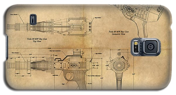Steampunk Raygun Galaxy S5 Case by James Christopher Hill