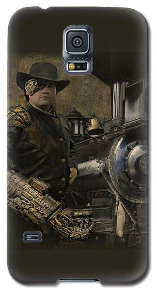 Steampunk - The Man 1 Galaxy S5 Case by Jeff Burgess