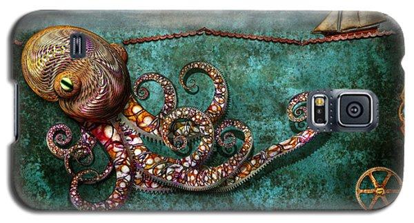 Steampunk - The Tale Of The Kraken Galaxy S5 Case