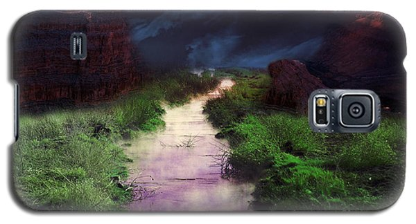 Steamy Creek Galaxy S5 Case by Gunter Nezhoda