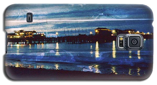 stearns Warf S.B. Calif Galaxy S5 Case by Gary Brandes