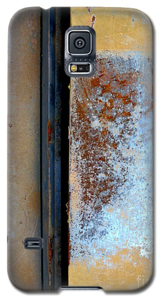 Galaxy S5 Case featuring the photograph Steel Abstract by Robert Riordan