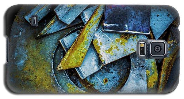 Steel Abstract Six Galaxy S5 Case