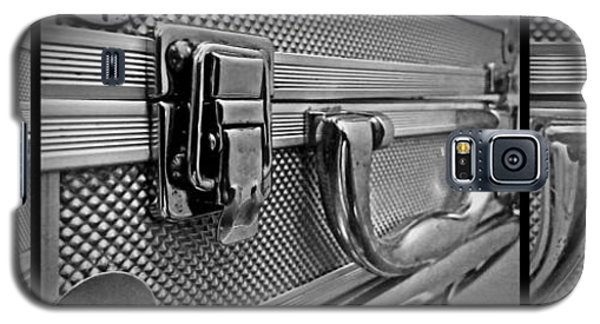 Galaxy S5 Case featuring the photograph Steel Box - Triptych by James Aiken
